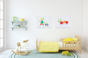 nursery wall art boy